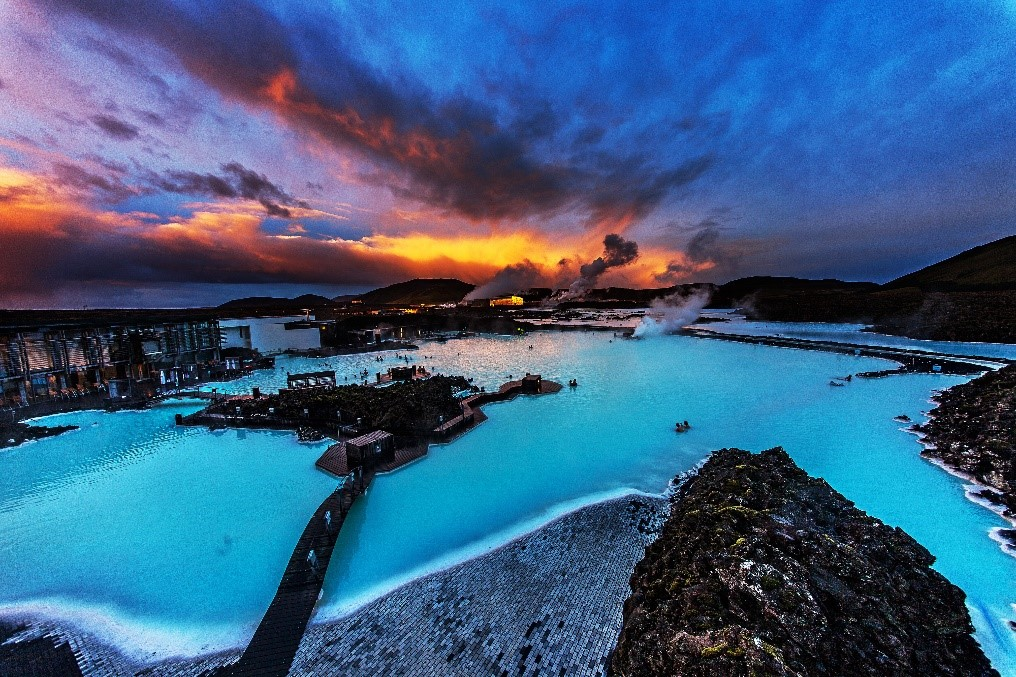 Start your new year the right way with the Blue Lagoon