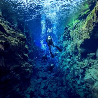The deep waters of Iceland and how to see them
